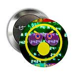 """Star Disco Graphic 2.25"""" Button"""