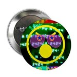 """Star Disco Graphic 2.25"""" Button (10 pack)"""