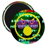 """Star Disco Graphic 2.25"""" Magnet (100 pack)"""