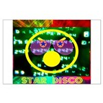 Star Disco Graphic Large Poster