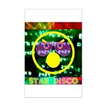 Star Disco Graphic Mini Poster Print