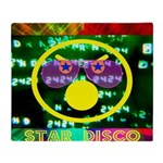 Star Disco Graphic Throw Blanket