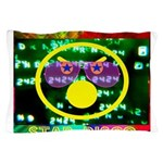 Star Disco Graphic Pillow Case