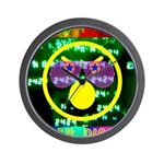 Star Disco Graphic Wall Clock