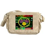 Star Disco Graphic Messenger Bag