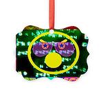 Star Disco Graphic Picture Ornament