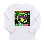 Star Disco Graphic Long Sleeve Infant T-Shirt