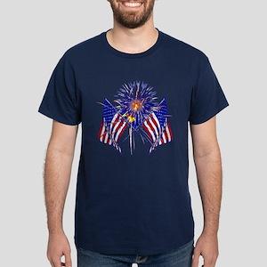 Celebrate America fireworks T-Shirt