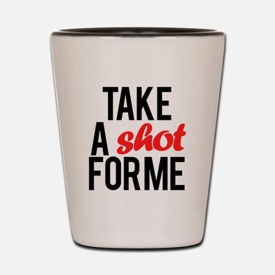 Cute Drake Shot Glass
