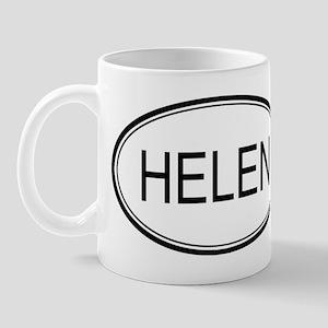 Helen Oval Design Mug