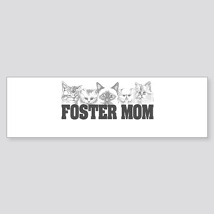 foster mom (cats) Bumper Sticker