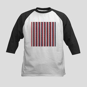 Patriot Stripes Kids Baseball Jersey