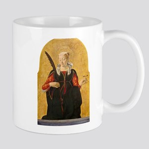 Francesco del Cossa - Saint Lucy Mug
