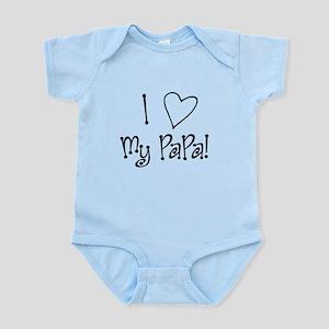 I Love My PaPa 3 Body Suit