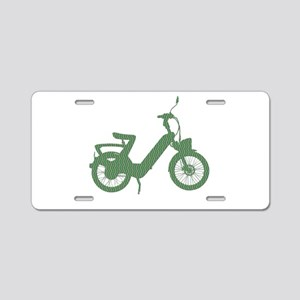 Scooter Aluminum License Plate