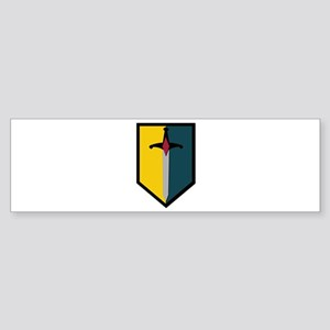 Army - SSI - 1st MEB no Text Sticker (Bumper)