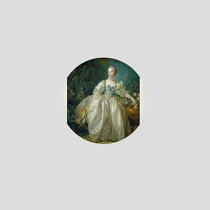 Francois Boucher - Madame Bergeret Mini Button