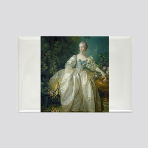 Francois Boucher - Madame Bergeret Rectangle Magne
