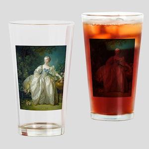 Francois Boucher - Madame Bergeret Drinking Glass