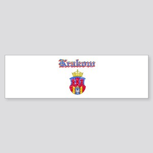 Krakow City designs Sticker (Bumper)