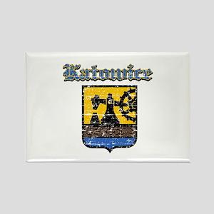 Katowice City designs Rectangle Magnet
