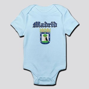 Madrid City designs Infant Bodysuit