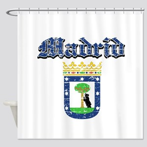 Madrid City designs Shower Curtain