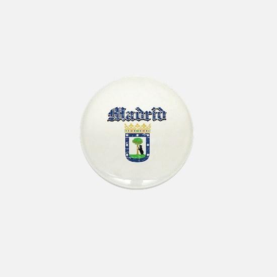 Madrid City designs Mini Button