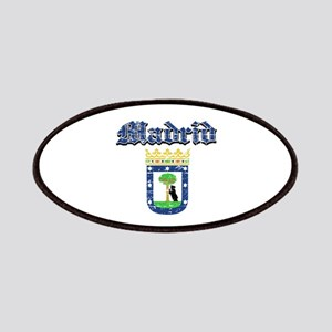 Madrid City designs Patches