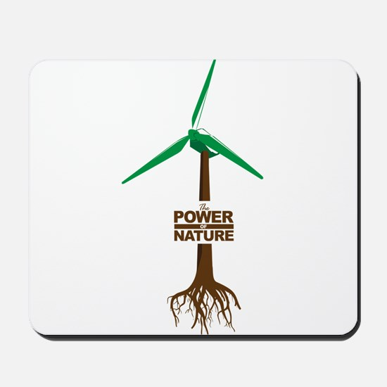 Roots of Green Energy Mousepad