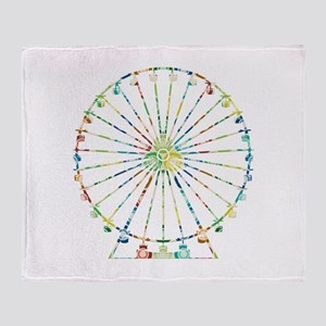 Ferris Wheel Throw Blanket