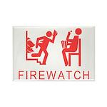 Firewatch Rectangle Magnet