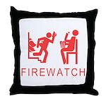 Firewatch Throw Pillow