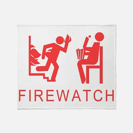 Firewatch Throw Blanket