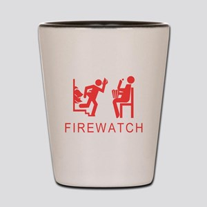 Firewatch Shot Glass