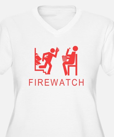 Firewatch Plus Size T-Shirt