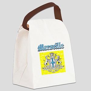 Marseille City designs Canvas Lunch Bag