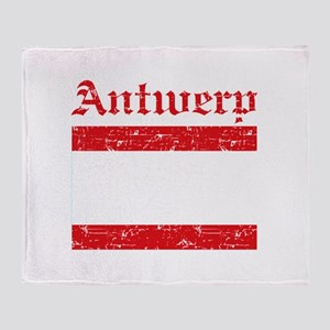Antwerp flag designs Throw Blanket