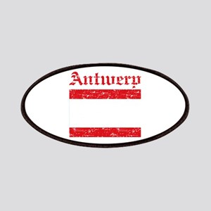 Antwerp flag designs Patches