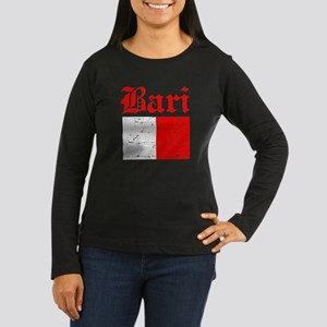 Bari flag designs Women's Long Sleeve Dark T-Shirt