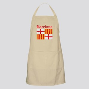 Bacelona flag designs Apron
