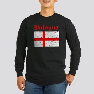 Bologna flag designs Long Sleeve Dark T-Shirt