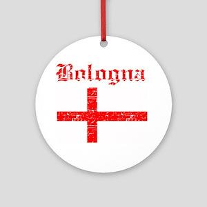 Bologna flag designs Ornament (Round)