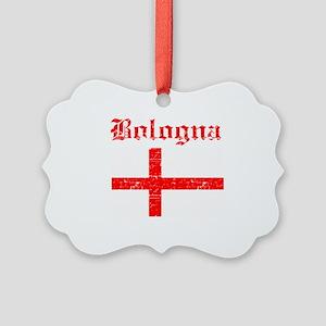 Bologna flag designs Picture Ornament