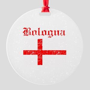 Bologna flag designs Round Ornament