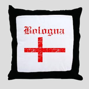 Bologna flag designs Throw Pillow