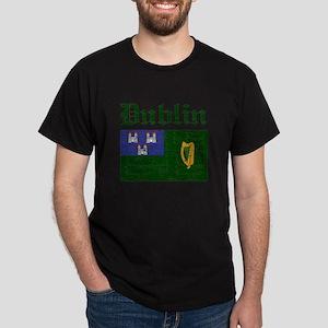 Dublin flag designs Dark T-Shirt