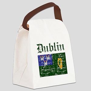 Dublin flag designs Canvas Lunch Bag