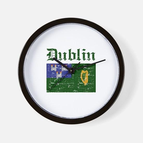 Dublin flag designs Wall Clock