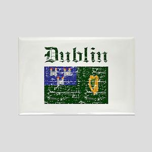 Dublin flag designs Rectangle Magnet